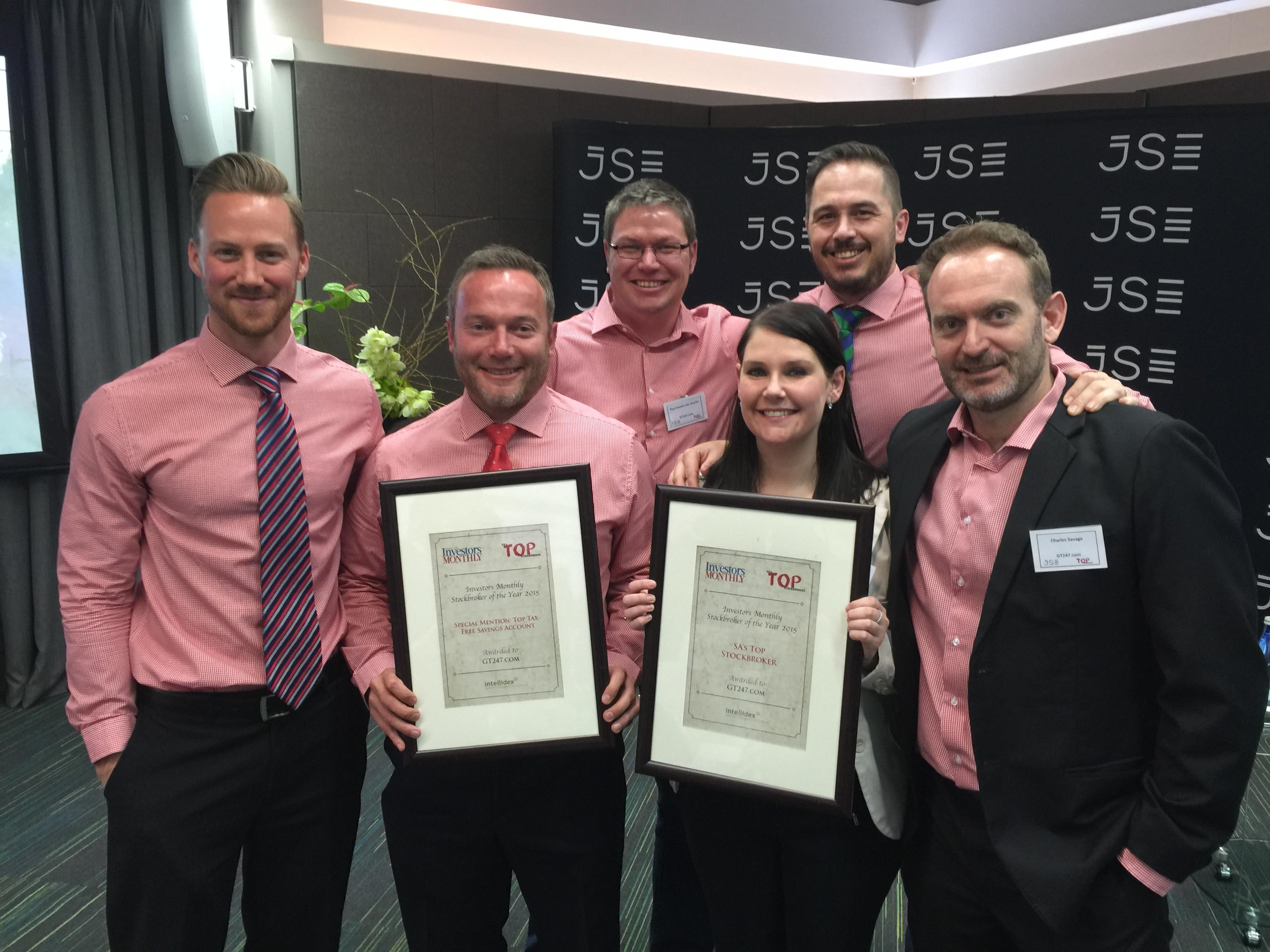Stock broker awards 2015