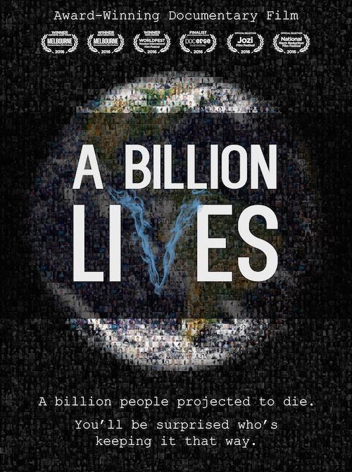 A Billion Lives - Media Graphic - August 2016