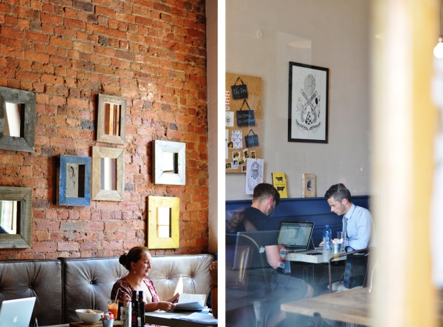 I WISH SOMEONE HAD TOLD ME the five best places to work out of office