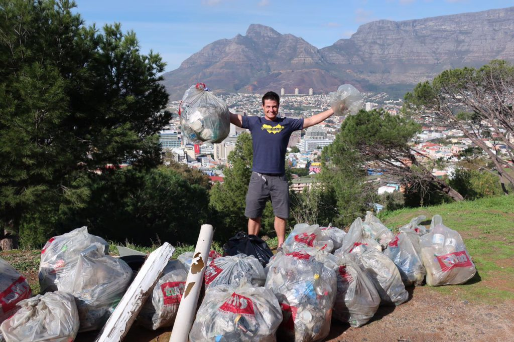 Let's help Blake get to Japan to represent SA in global litter drive