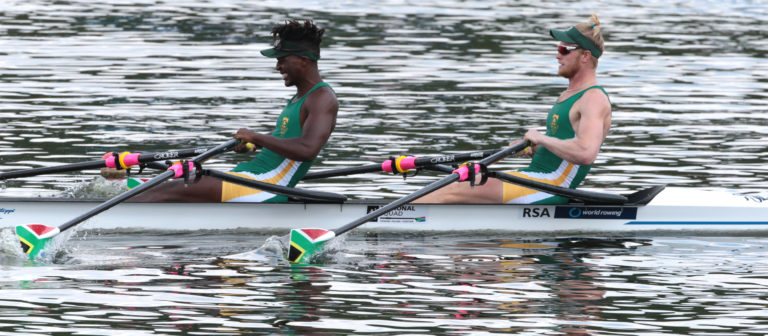 The future of South African rowing is looking bright
