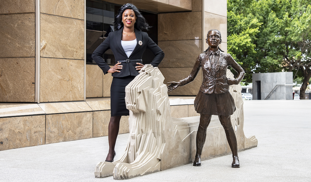 RMB welcomes Africa's Fearless Girl