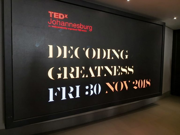 TED Talk Tuesday #89 – TEDxJohannesburg: Decoding Greatness