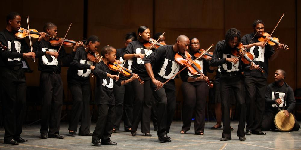 Soweto String Ensemble benefit concert for Early Care Foundation