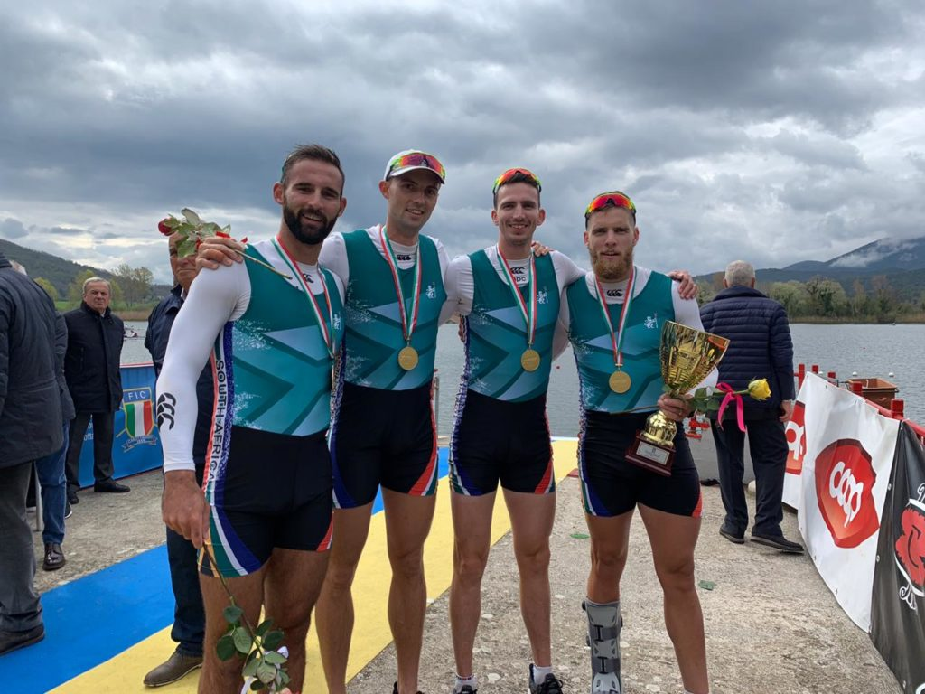 Team SA rowing places third in Italy