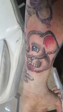 Rickie Hart - Ink Link - Elephant
