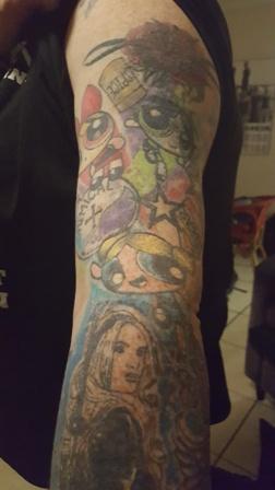 Rickie Hart - Ink Link - Powerpuff