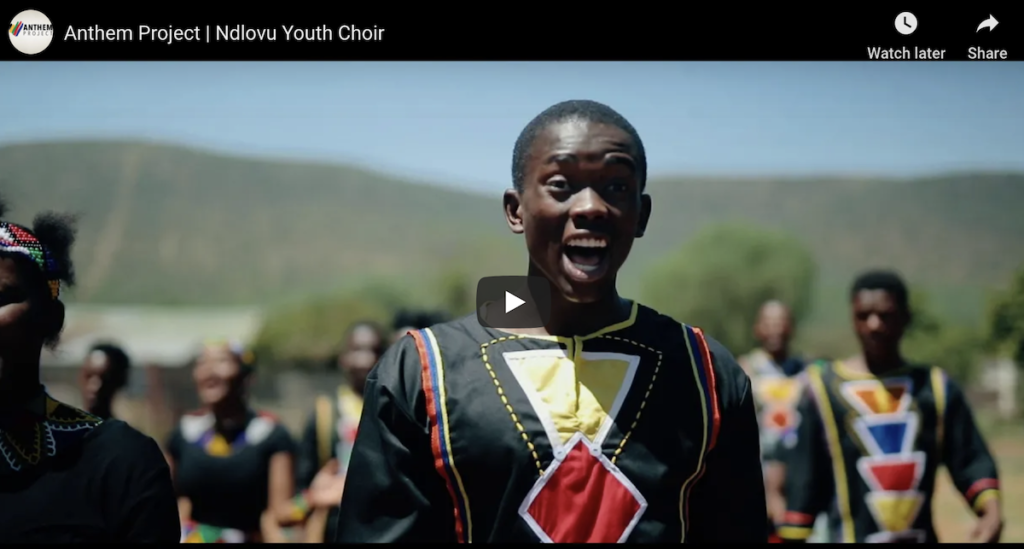 Ndlovu Youth Choir – Finalists in the Anthem Project