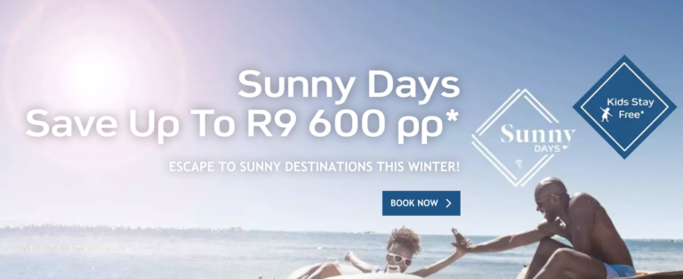 Save with Club Med's Sunny Days promotion