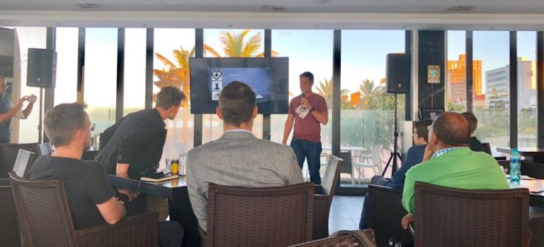Blake Dyason speaks at the SingularityU Durban Chapter about the power of volunteering and technology.