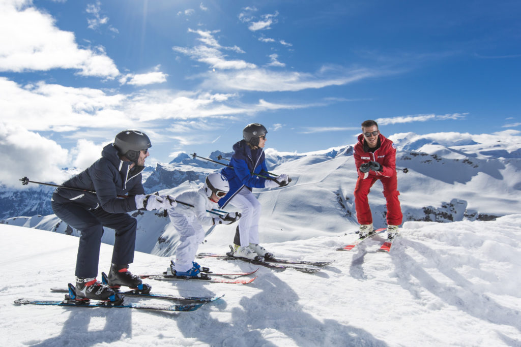 A ski lesson with Club Med