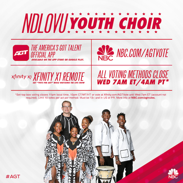 AGT season 14 vote for the Ndlovu Youth Choir