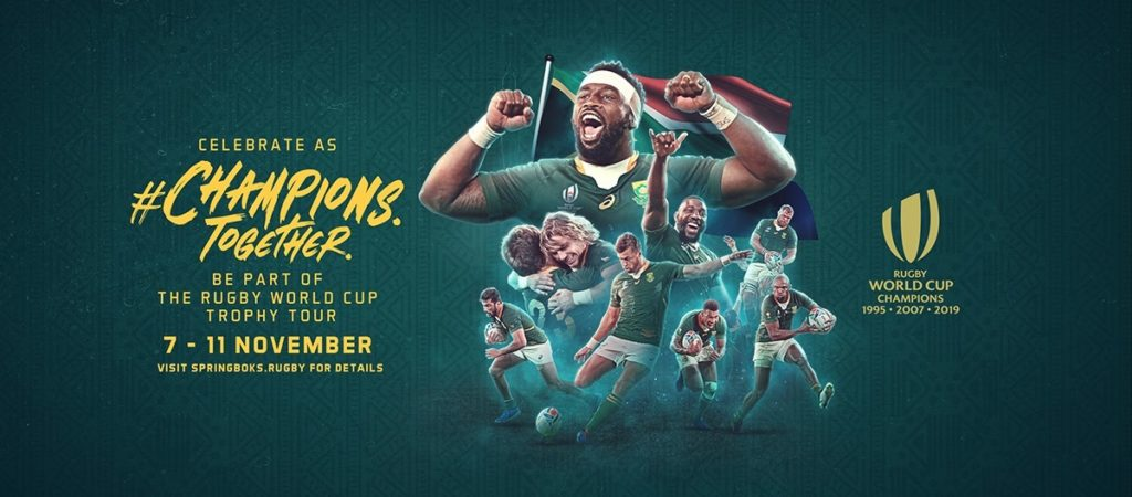 Springboks Rugby World Cup 2019