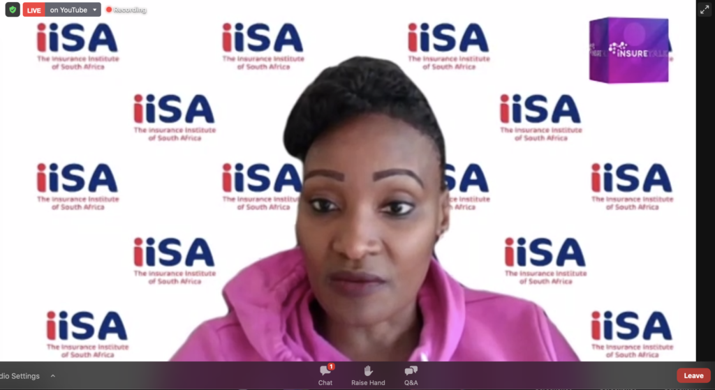 Next up on the agenda was an industry update fromThokozile Mahlangu, CEO of the Insurance Institute of South Africa.
